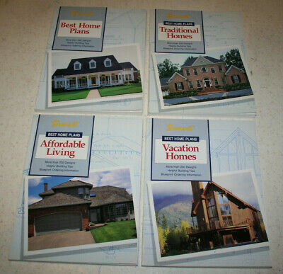 lot 4 Sunset Best Home Plans books Traditional Affordable Living Vacation 1992