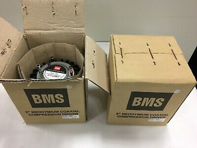 "Pair of new BMS 4594 1.4"" COAXIAL NEODYMIUM COMPRESSION DRIVER"