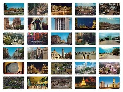 Premium Mexico Early Chrome Postcard Lot of 205 postcards (Individually Sleeved)