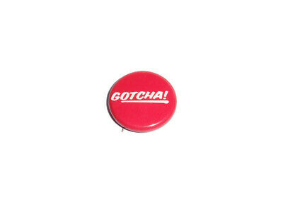 Vintage Taco Bell Red Gotcha! Button Pin 80s 1984