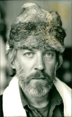Vintage photograph of Donald Sutherland