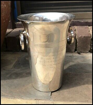 Vintage 1970 National Agricultural Canberra Show BeefCattle 1st Prize Ice Bucket