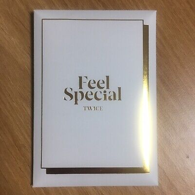 TWICE The 8th Mini Album FeelSpecial Official Photocard Pre-order Gift Photocard