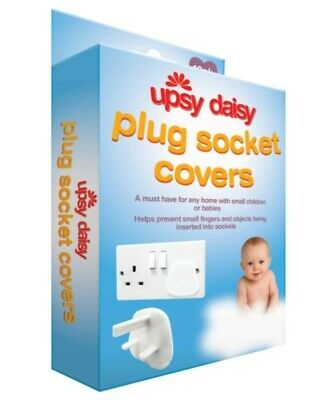 NEW - Pack of 12 White Socket Covers - Child Safety Plug Covers - Easy to Fit