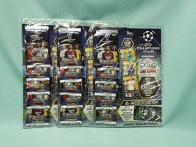 Topps Match Attax Champions League 2019/2020 3 x Multipack 3 x Limited Edition