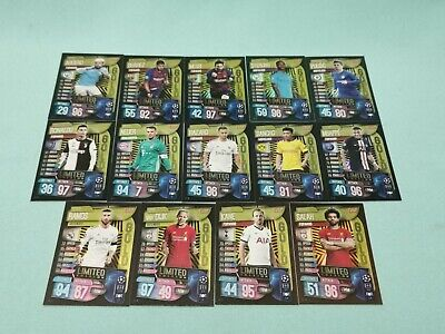 Topps Match Attax Champions League 2019/2020 Limited Edition aussuchen 19/20