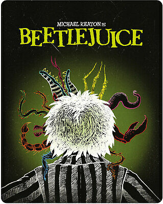 BeetleJuice -limited edition  Steelbook  new sealed