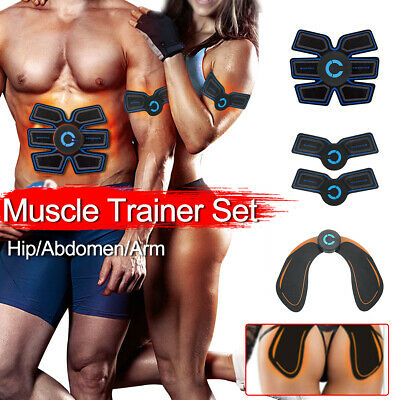 Rechargeable Abs Simulator Arms Training Abdominal Muscle Exerciser Hip Trainer