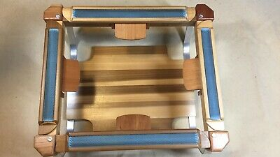 RECTANGLE RUG HOOKING LAP OR TABLE FRAME 11 x 13 WORK AREA