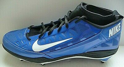 Details about Nike Zoom Air Football Cleats 030406 LN2 Men 14 Blue White