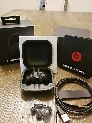 Copy Beats by Dr. Dre Powerbeats Pro In-Ear Wireless Headphones Replica Black