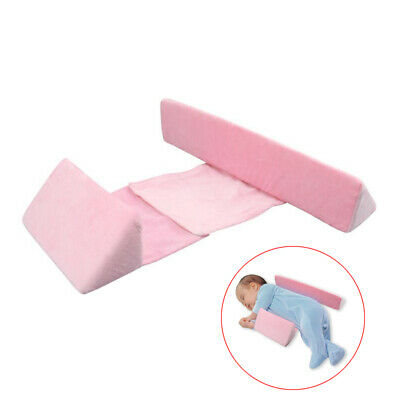 Detachable Cover Adjust Width Infant Side Sleeping Sleep Pillow For Newborn Baby