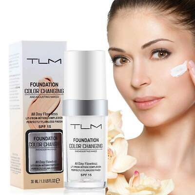 Magic Flawless Colour Color Changing Foundation TLM Makeup Change Skin Tone ST