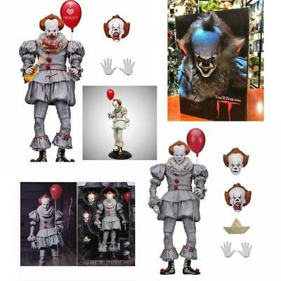 """7"""" IT 2017 Pennywise Clown Action Figure Collectible Gift Stephen King Model Toy"""