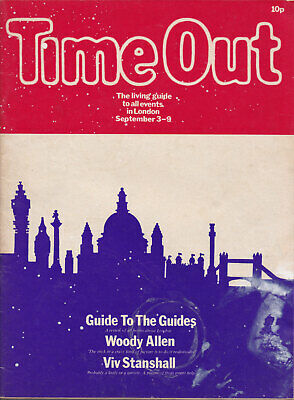 Time Out - Original London Magazine 3-9 Sept 1971 Viv Stanshall, Woody Allen etc