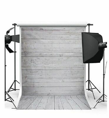 Background Backdrop Cotton Muslin 7x5FT Meter Photo Photography Wood Wall Floor