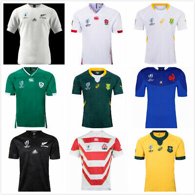 Rugby World Cup Rugby Jersey Australia Ireland France Japan Short Sleeve S-5XL
