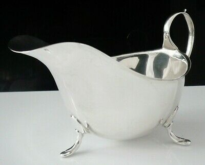 Immaculate Silver Sauce Boat, Sheffield 1930, James Deakin & Sons