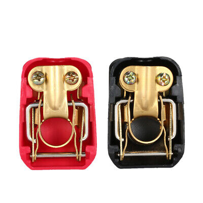2Pcs 12V Car Caravan Boat Quick Release Battery Connector Terminals Clamp H3A1