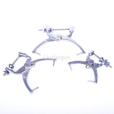 Orthopedic Veterinary instrument tool L/M/S Stainless steel skull traction tong