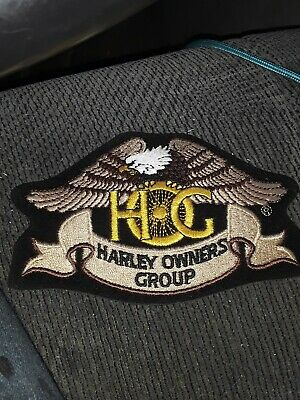 Harley Davidson Harley Owners Group Hog Embroidered Patch