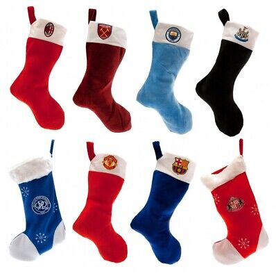 Official Football Merchandise Christmas Present Stocking Decoration Gift Soccer