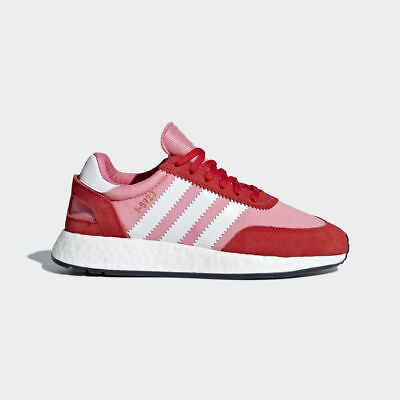 antiguo Fruta vegetales leninismo  ADIDAS INIKI RUNNER BOOST I-5923 RAW PINK DUSTY CORE BLACK BY9095 WOMEN'S  SHOES