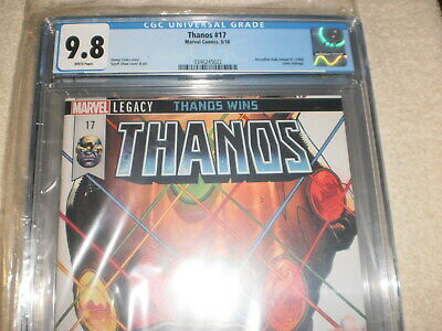 Thanos 17 Cgc 9.8 Incredible Hulk Annual 7 Cover Homage Variant