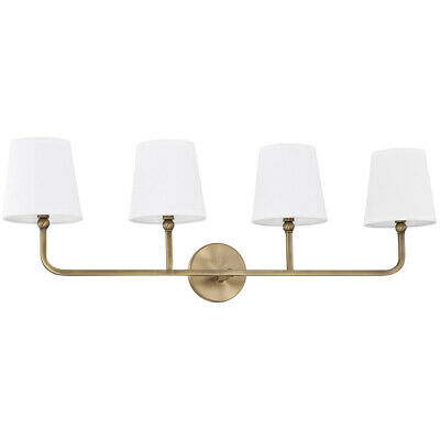 Capital Lighting Fixtures 119341AD-674 Dawson Bathroom Vanity Light Aged Brass