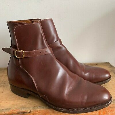 Vintage H E Randall Uk Size 4.5 Womens Ankle Boots Equestrian Country Living