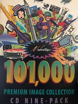 Masterclips 101,000 Premium Image Collection CD 9 Pack