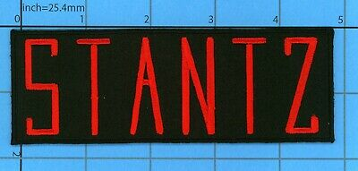 Iron On Patch Stantz Ghostbusters Name Tag Morale  Movie Halloween 5X2