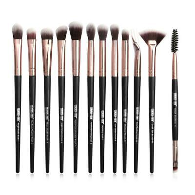 12Pcs Makeup-Brushes Set Eye Shadow Blending Eyeliner Eyebrow Brushes