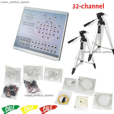 KT88-3200 32 Channel EEG Machine &Mapping System,Brain electric 2 tripods,PC SW