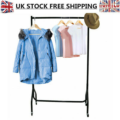 3FT Garment Clothes Rail Super Heavy Duty Hanging Storage Rack Market Display UK