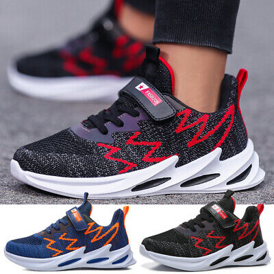 Kids Shoes Boy Girl Mesh Sneakers Sport Running Trainers Casual Athletic Comfort