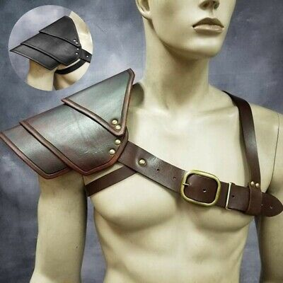 Bracers Adult Metal-Look Wrist Armor Gladiator Greek Warrior Medieval Costume Other Costume Accessories Clothing, Shoes & Accessories