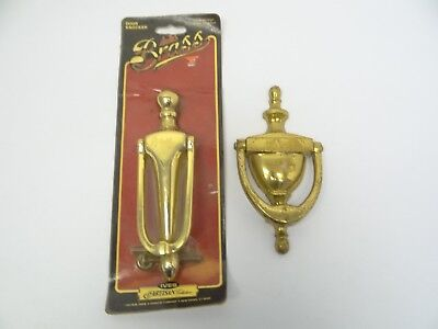 New & Used Brass Metal Front Door Knockers Parts IVES Artisan Collection Brazil