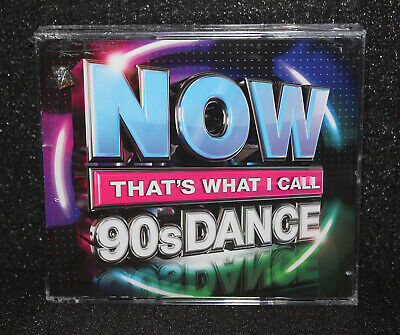 NOW That's What I Call Music 90s DANCE UK Import 3 CD Album Set Pop R&B Rap Hits