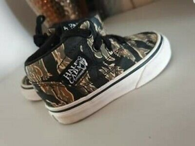 multiple colors united states new collection BRILL CONDITION HALF cab VANS toddler boys trainers size 4.5 ...