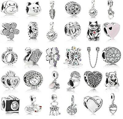 2# New Authentic Genuine PANDORA Charms ALE S925 Sterling Silver