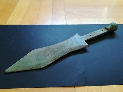 PUGIO LEGIONARY DAGGER ANCIENT ROMAN CEREMONIAL BRONZE WEAPON 1-2 ct.AD  32,5 cm