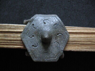 Umb Boss Shield Hallstatt Culture Ancient Celtic Bronze Weapon 700-500 B.c.