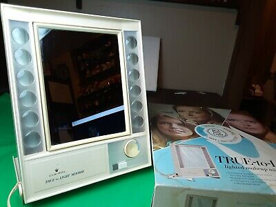 Clairol True-to-Light Lighted Makeup Mirror Model LM-1