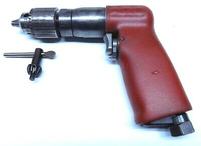 """ARO 1/4"""" Reversible Mini Palm Drill with Jacobs Chuck Aircraft Tool"""