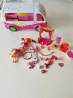 Shopkins Bus  Lalaloopsy dolls  circus  sold out show
