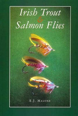 MALONE TED FLYFISHING AND FLY TYING BOOK IRISH TROUT & SALMON FLIES paperbck NEW