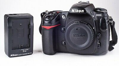 Nikon D300 12.3mp DSLR Camera Body with Battery and Charger 4055717 191112
