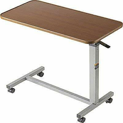 Auto-Touch Overbed Table, 30 X 15 X 3/4, 29 To 45