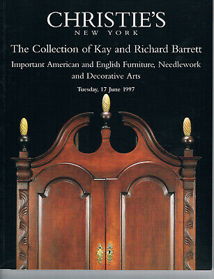 Christie's - Important American & English Furniture, Needlework &Decorative Arts